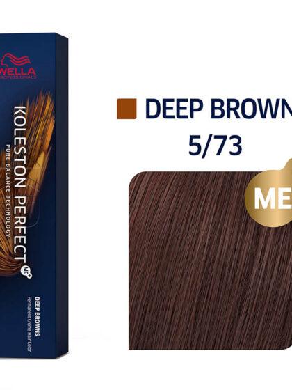 Wella Professionals Koleston Perfect Me Deep Browns 5/73 60ml