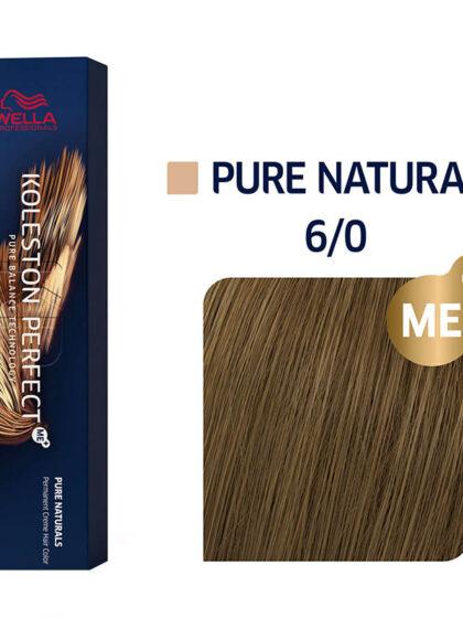 Wella Professionals Koleston Perfect Me Pure Naturals 6/0 60ml