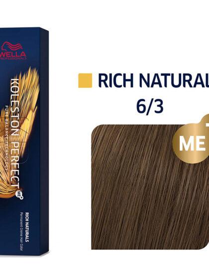 Wella Professionals Koleston Perfect Me Rich Naturals 6/3 60ml