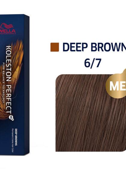 Wella Professionals Koleston Perfect Me Deep Browns 6/7 60ml