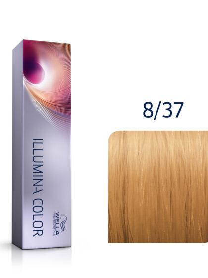 Wella Illumina Color 8/37 Light Blonde Gold Brown 60ml